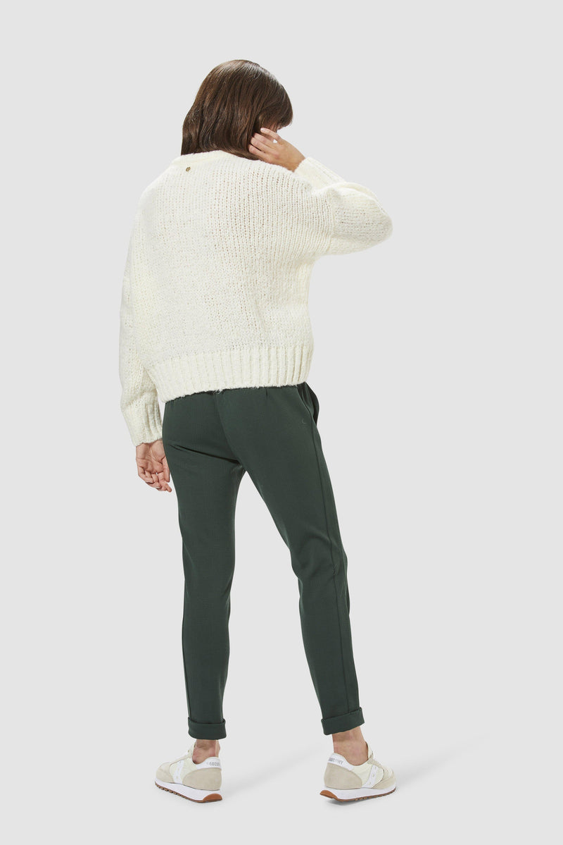Rich & Royal - Casual round-necked jumper - model image back