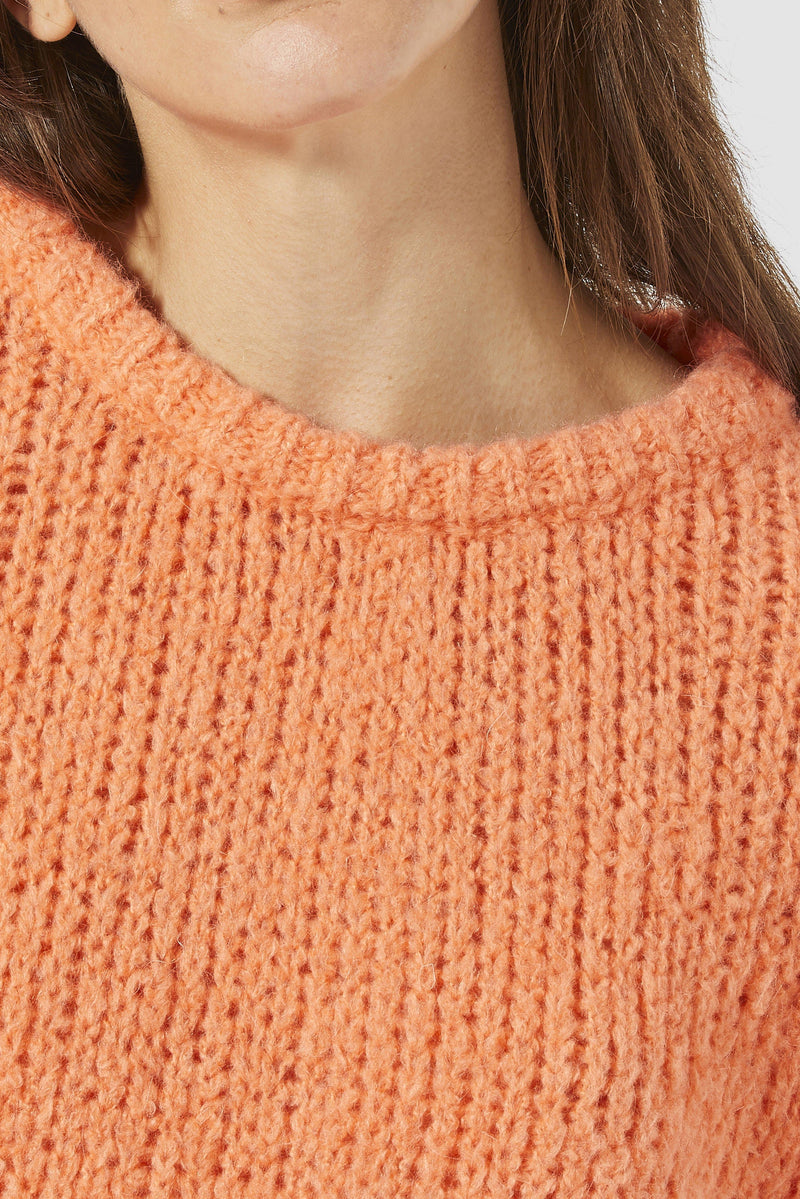 Rich & Royal - Casual round-necked jumper - detail view