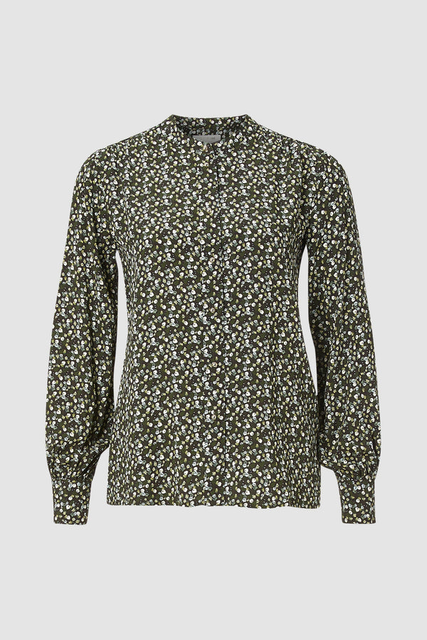 Rich & Royal - Blouse in scattered floral design - bust