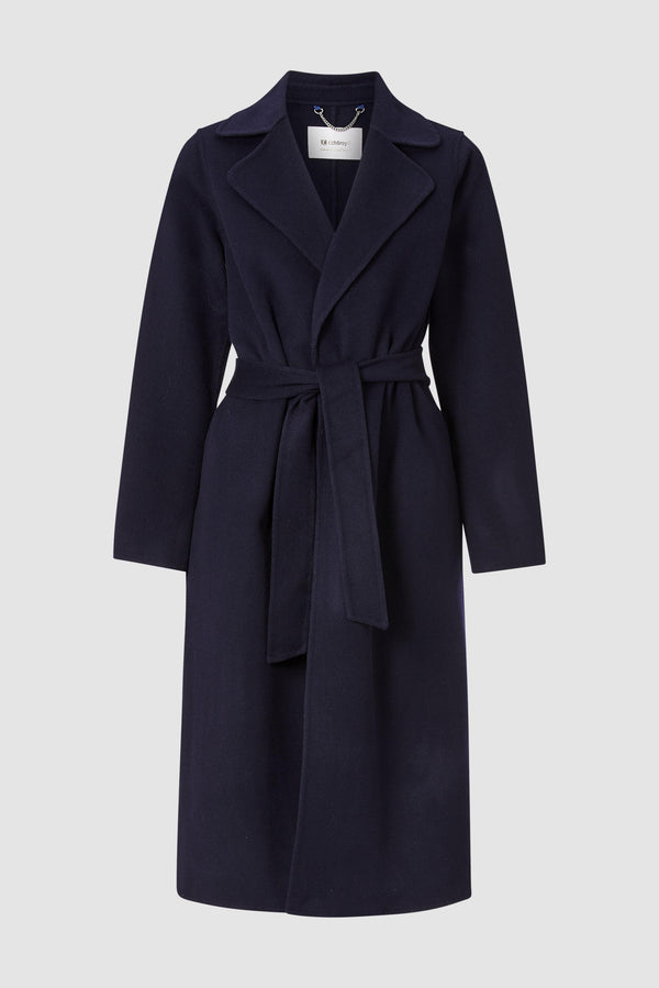 Rich & Royal - Coat with belt - bust