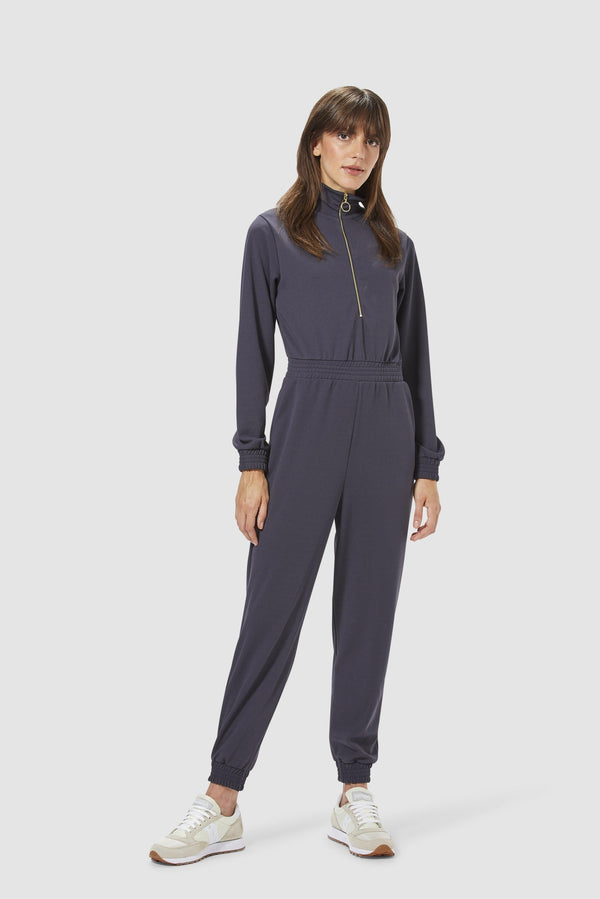 Rich & Royal - Jumpsuit with zip fastening - model image front