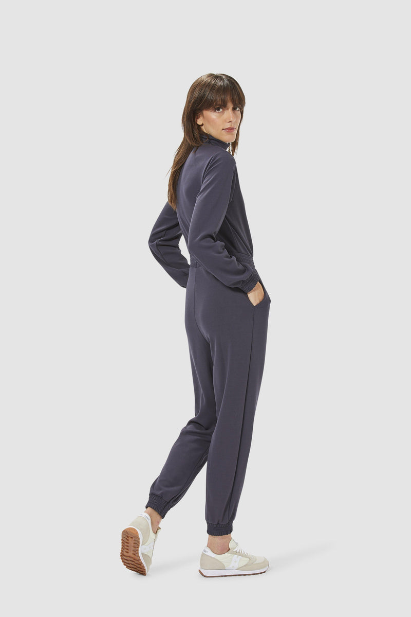 Rich & Royal - Jumpsuit with zip fastening - model image back