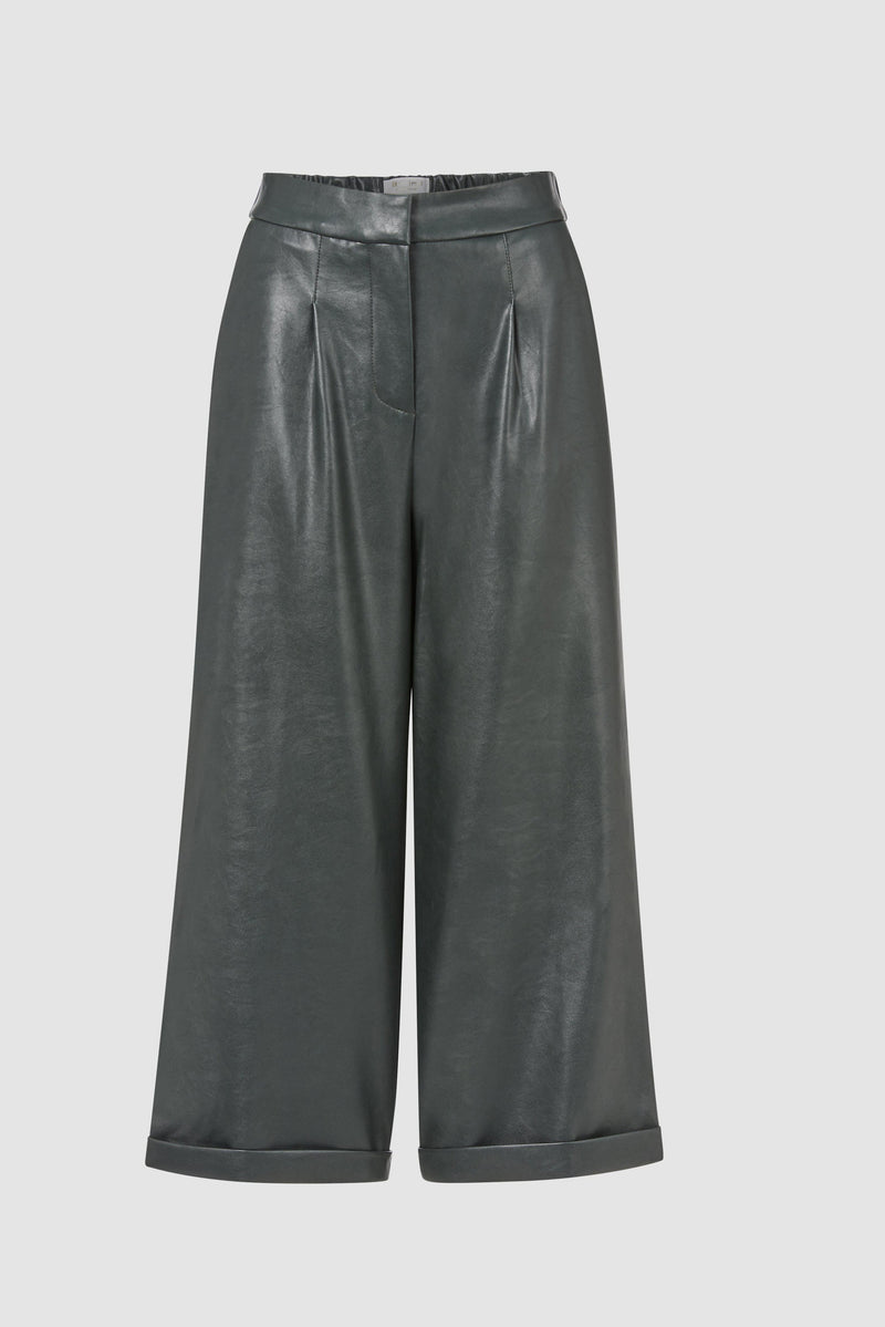 Rich & Royal - Fake leather culottes - bust