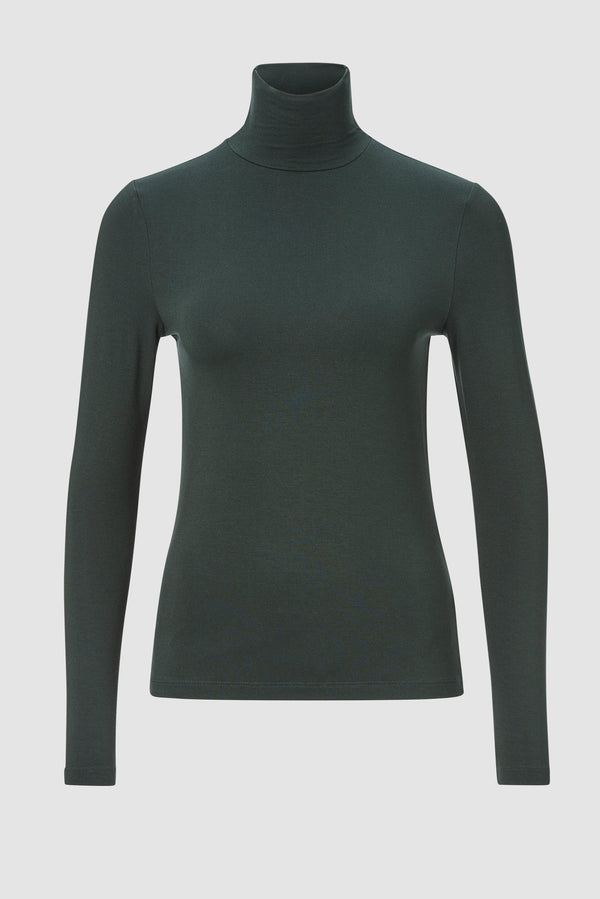 Rich & Royal - Long-sleeved roll-neck top - bust