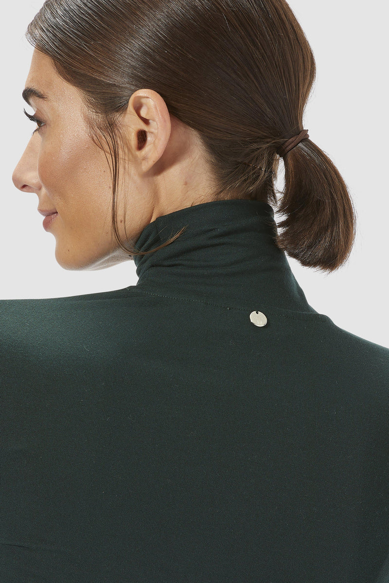 Rich & Royal - Long-sleeved roll-neck top - detail view