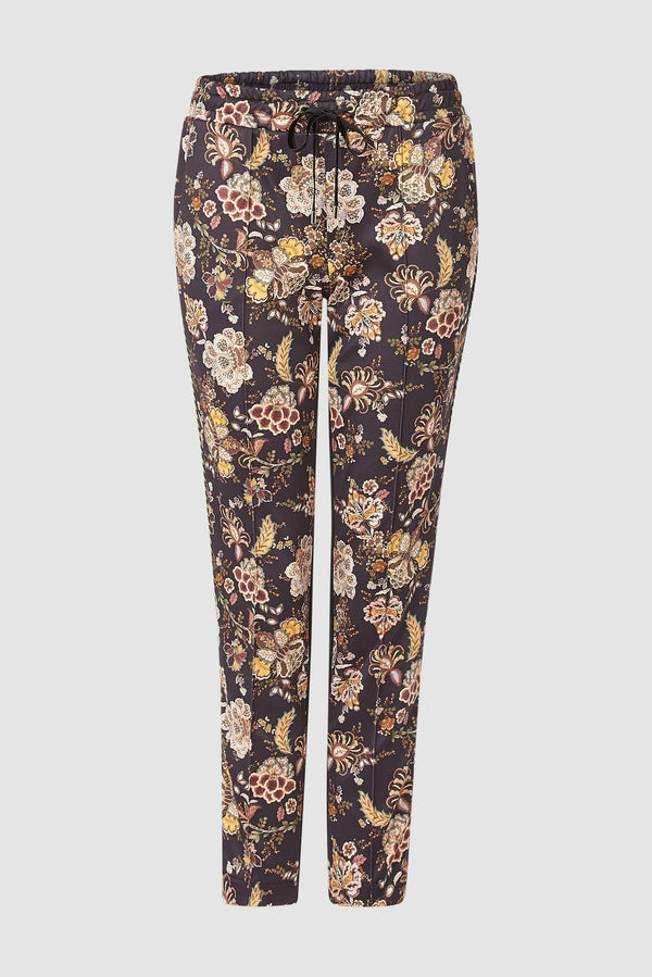 Rich & Royal - Printed scuba trousers - bust