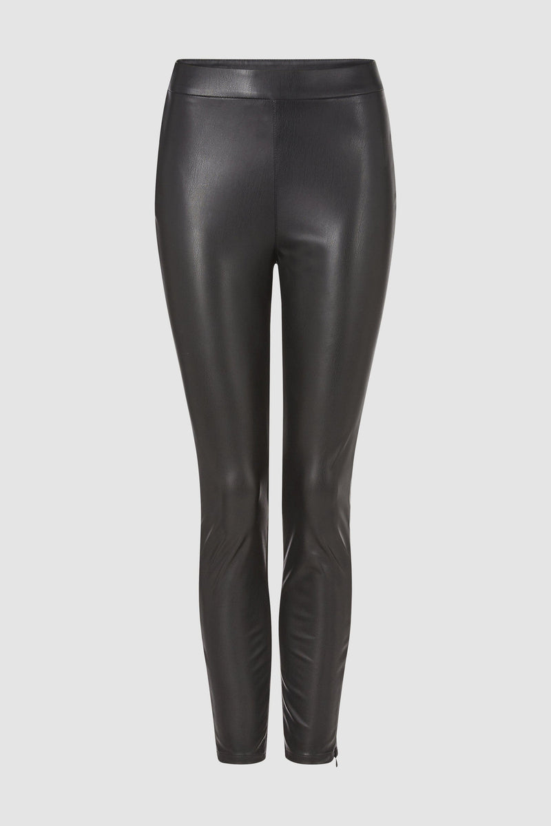 Rich & Royal - Fake leather leggings - bust