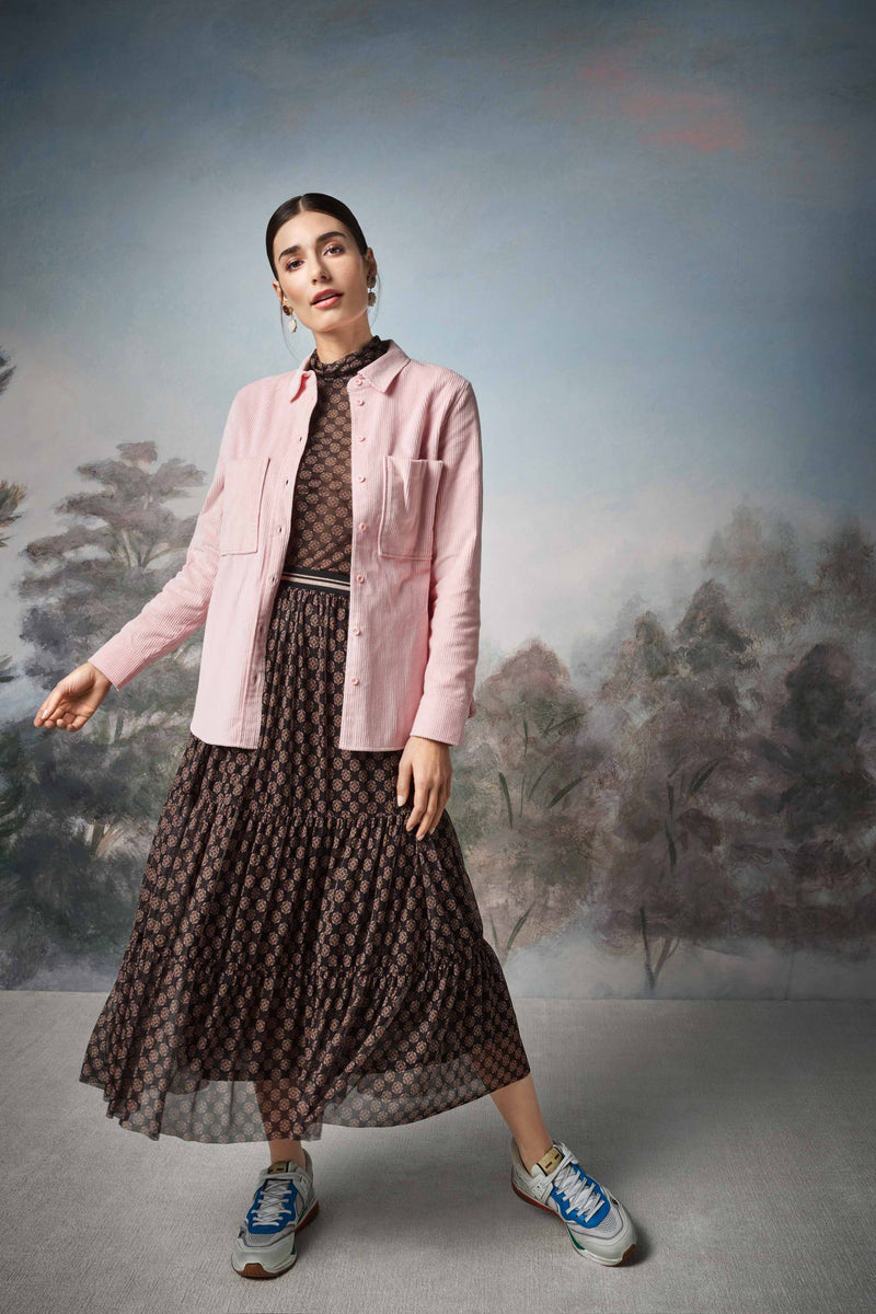 Rich & Royal - Mesh skirt in tiered design - campaign image