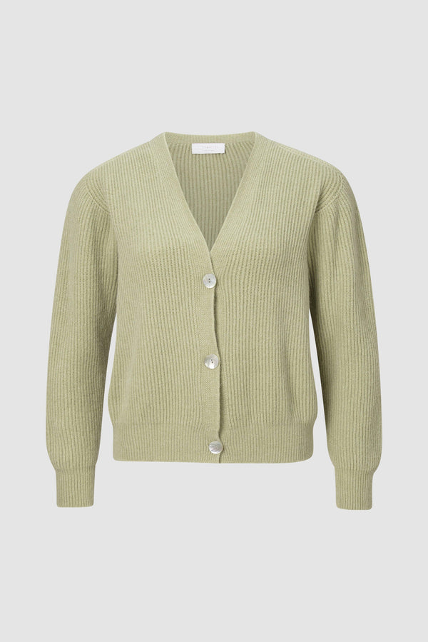 Soft rib-knit jacket