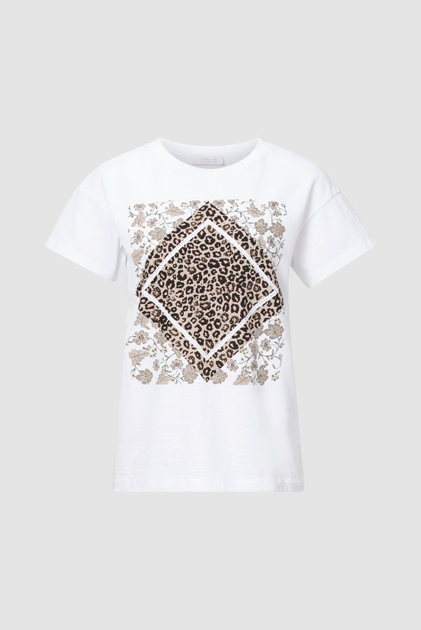 Rich & Royal - Leopard print T-shirt - bust