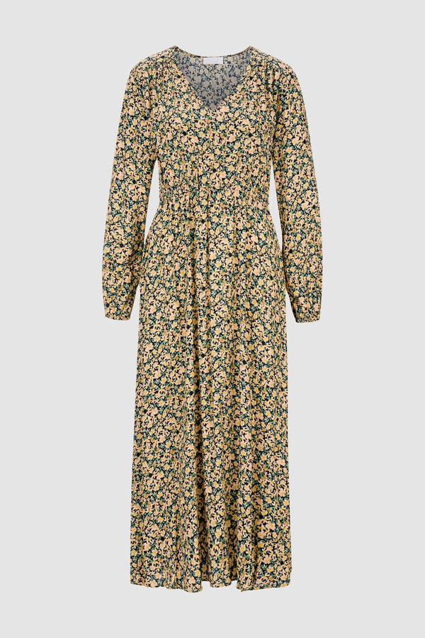 Rich & Royal - Midi dress with floral print - bust