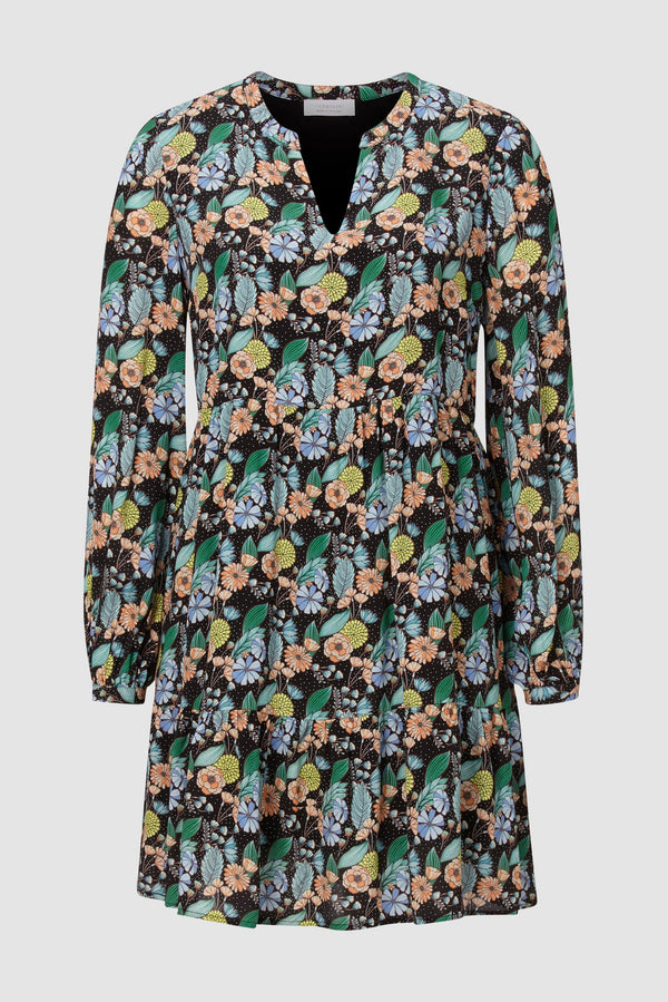 "Rich & Royal - ""Flower power"" dress - bust"