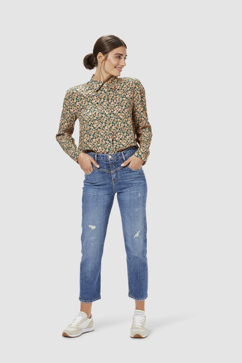 Rich & Royal - Floral blouse - model image front