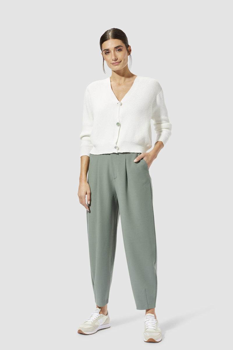 Rich & Royal - Trousers with pleats - model image front