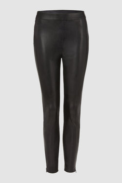 Rich & Royal - Artificial leather leggings - bust