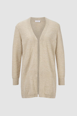 Rich & Royal - Cardigan in mottled yarn - bust