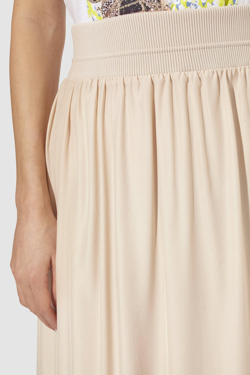 Rich & Royal - Swinging midi skirt - detail view
