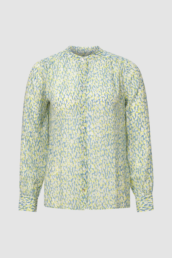 Rich & Royal - Delicate printed blouse - bust