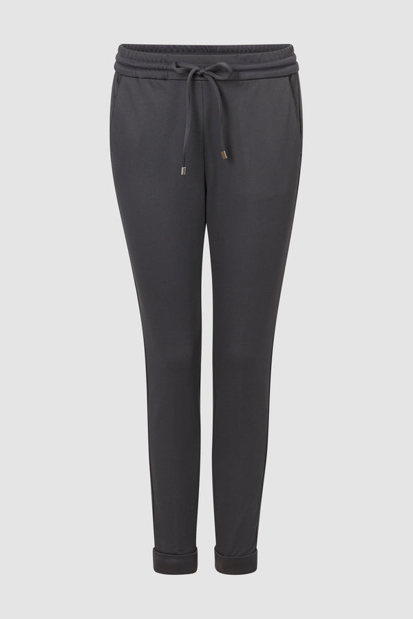 Rich & Royal - Twill jogger style trousers - bust