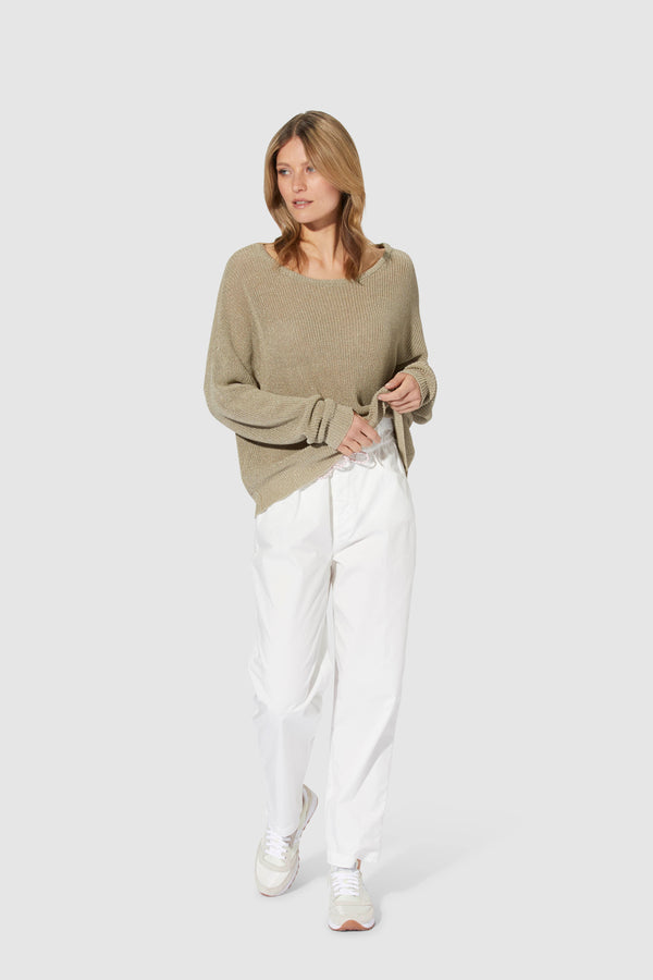 Jumper with lurex details