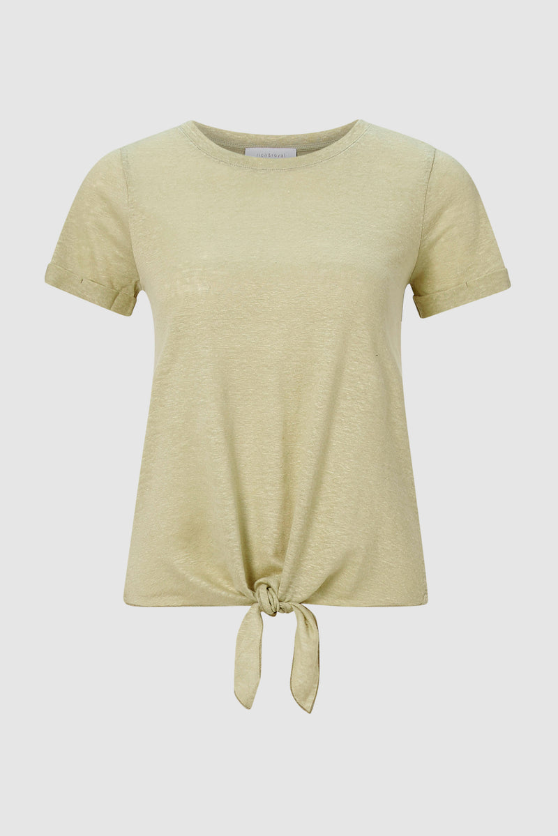 T-shirt with knot detail