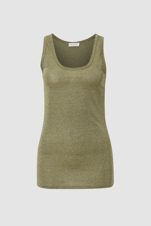 Lurex Sleeveless Top