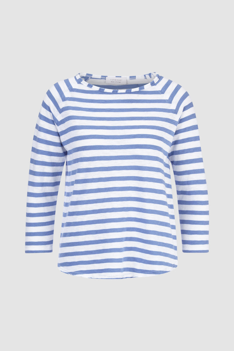 Rich & Royal - Heavy Jersey Longsleeve Striped - bust