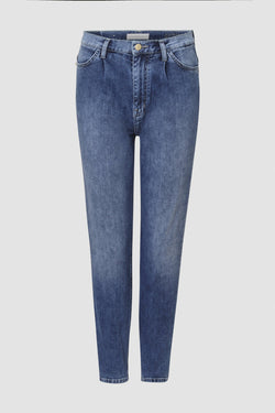 Rich & Royal - Girlfriend jeans with pleats - bust