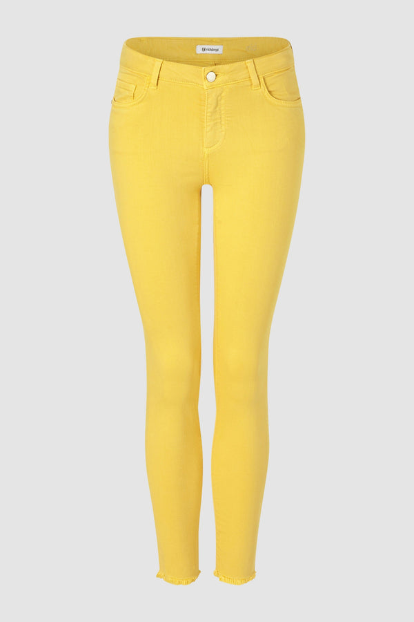 Coloured midi jeans
