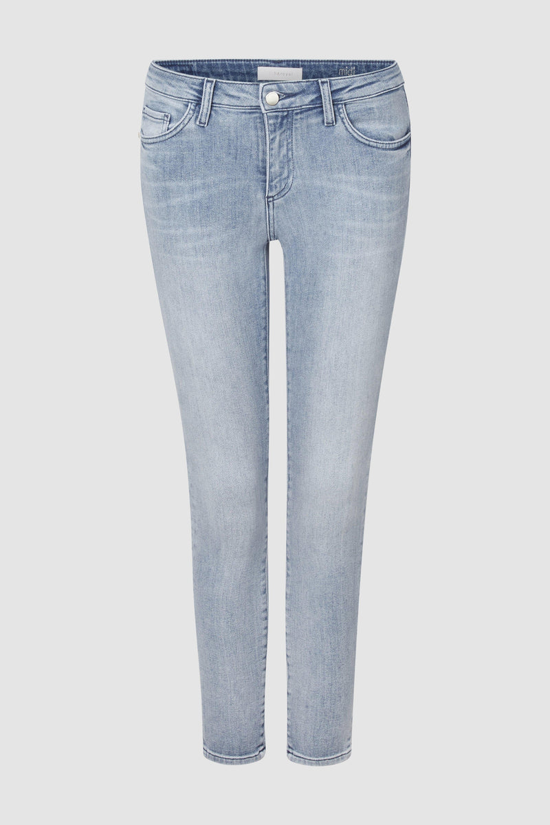 Rich & Royal - Midi jeans in sky blue denim  - bust