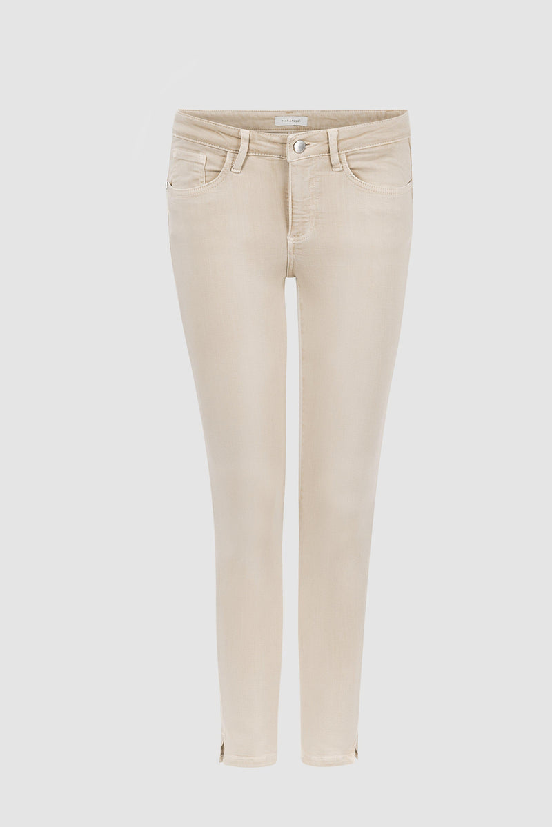 Rich & Royal - Midi coloured denim jeans - bust