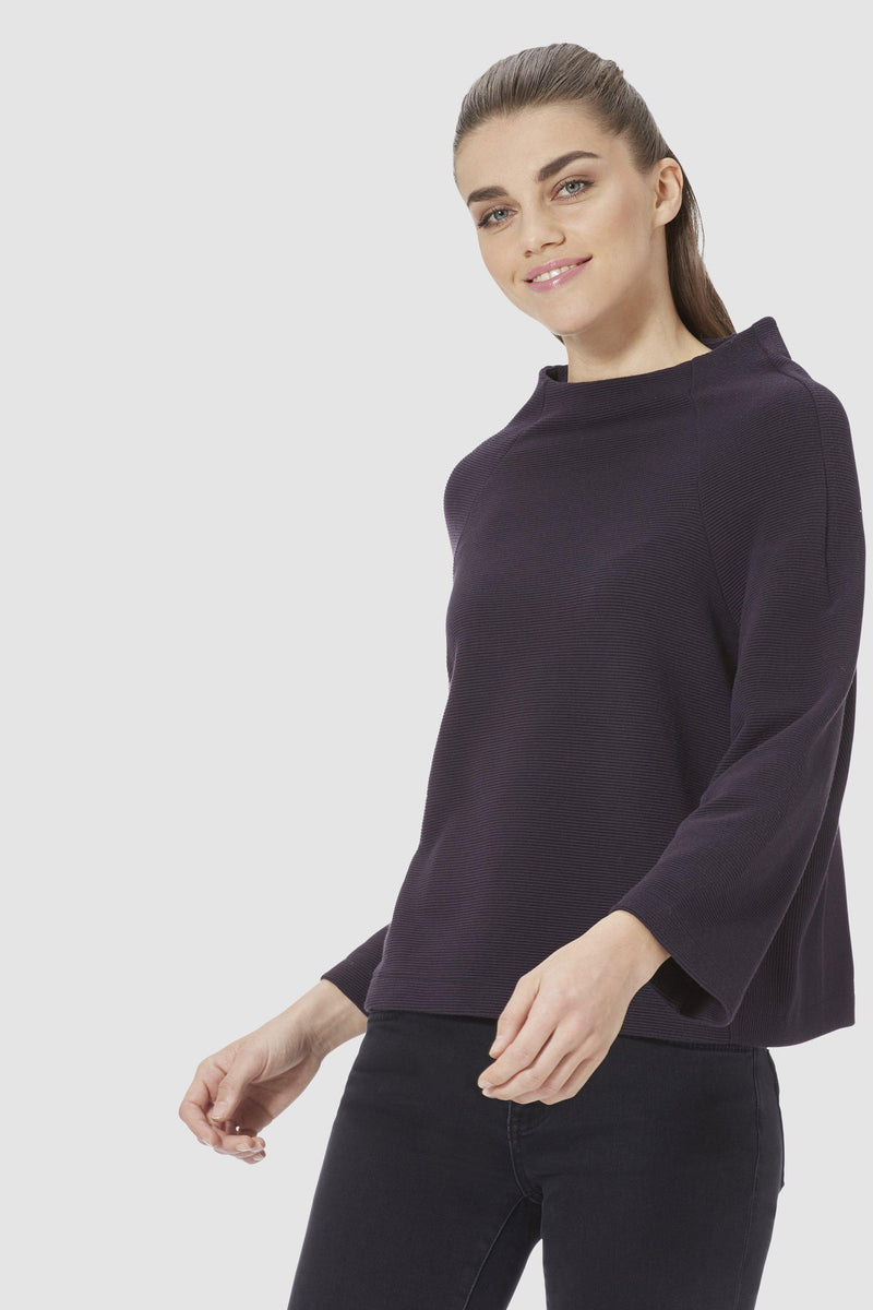 Sophisticated turtleneck jumper