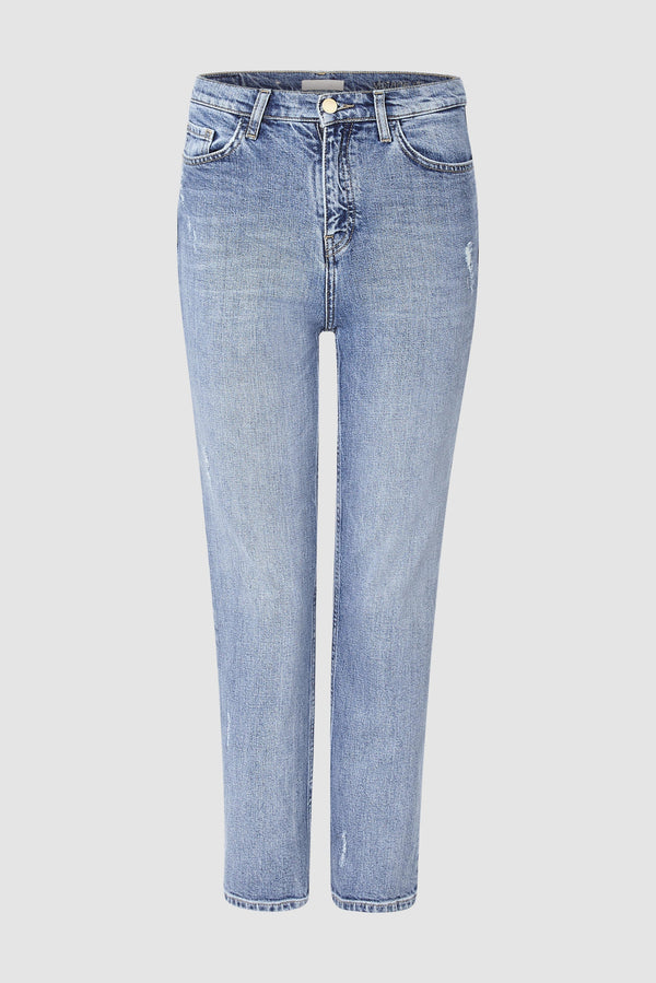 Authentic vintage straight-cut jeans