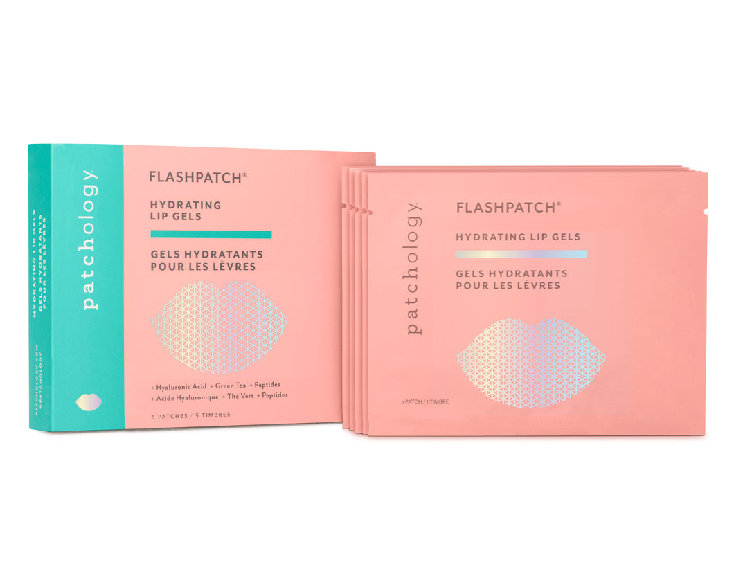 FLASHPATCH® HYDRATING LIP GELS: 5 PATCHES