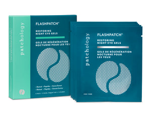 FLASHPATCH® RESTORING NIGHT EYE GELS: 5 PAIRS