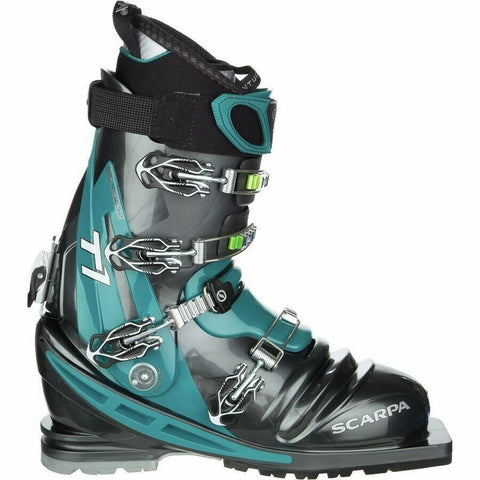 Telemark Boot - Scarpa T1 - Traditional Tele - Four Buckle - Size 27 - New