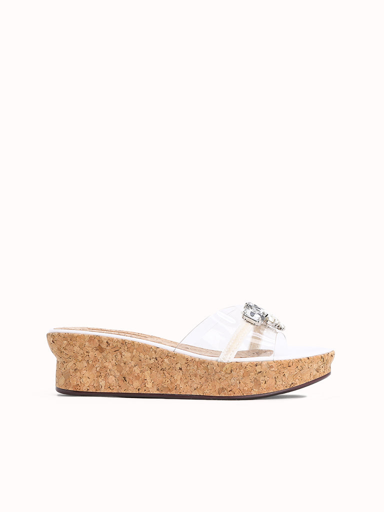 HELENA Wedge Slides