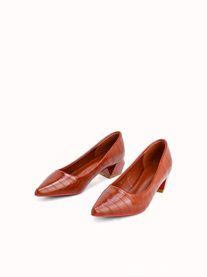 C-19FRANCES Heel Pumps