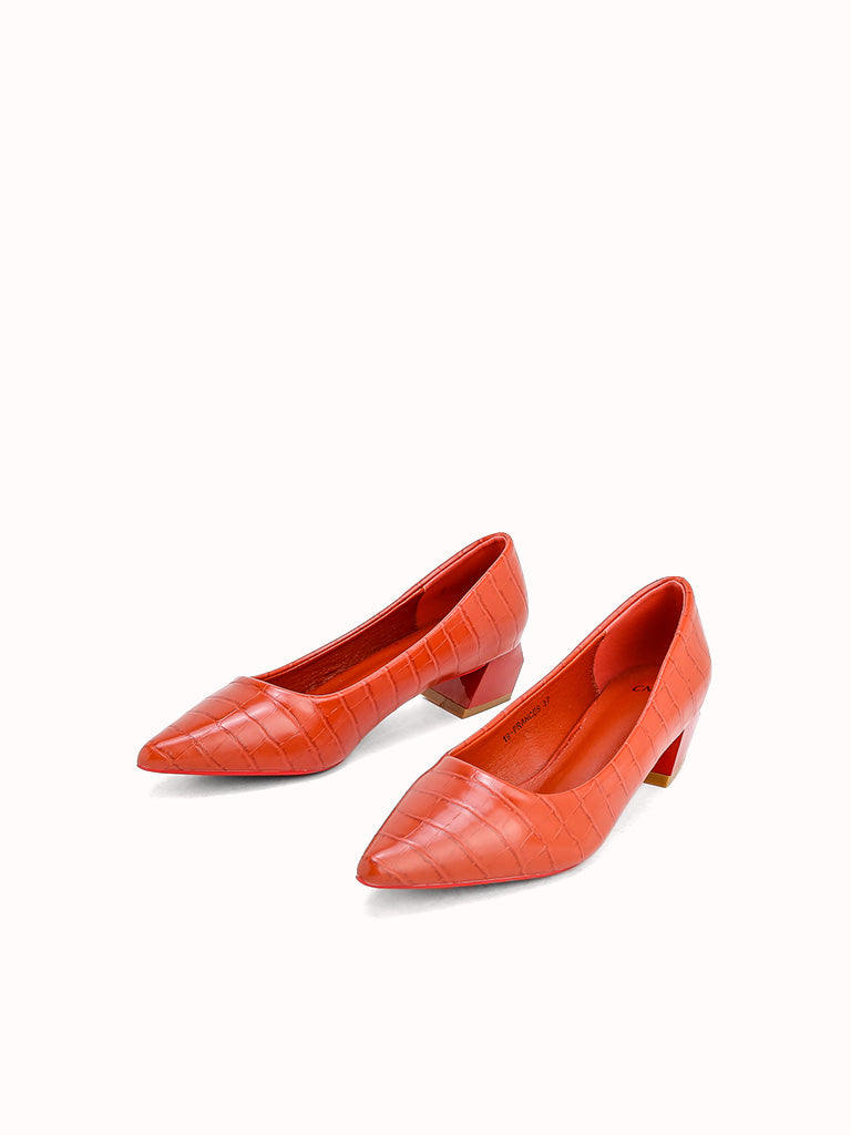 FRANCES Heel Pumps