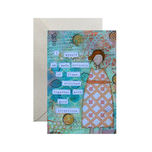 good intentions… humble card