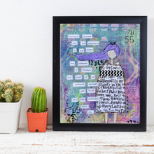 Load image into Gallery viewer, surround yourself… inspirational print