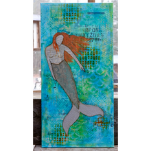Load image into Gallery viewer, true direction… mermaid canvas