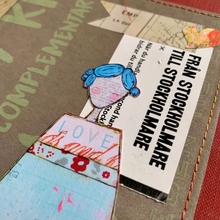 Load image into Gallery viewer, the hot kit… handmade journal