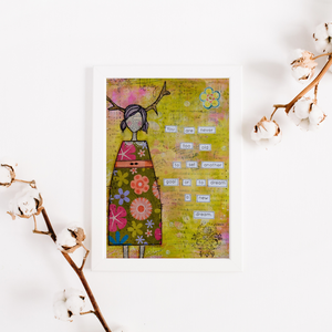 dream a new dream… inspirational print