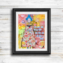 Load image into Gallery viewer, eyes on the stars… inspirational print