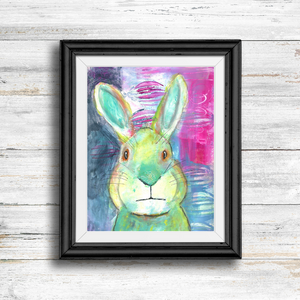 mister rabbit… cute print