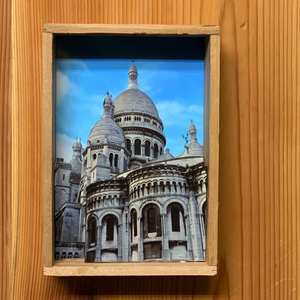 sacre coeur, france... 3D box