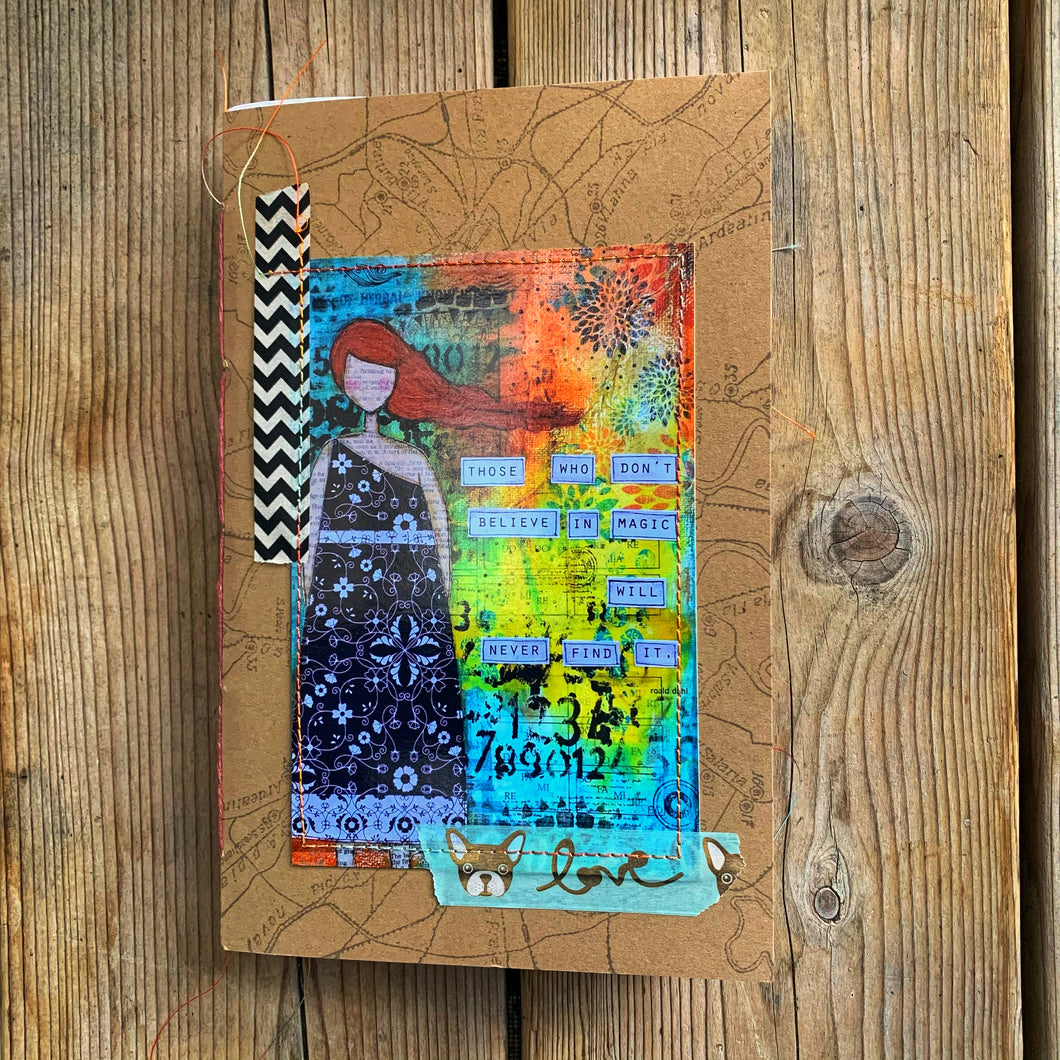 believe in magic1… unlined notebook