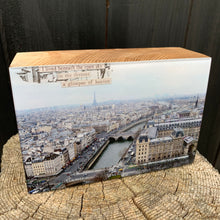 Load image into Gallery viewer, paris, france... resin on wood