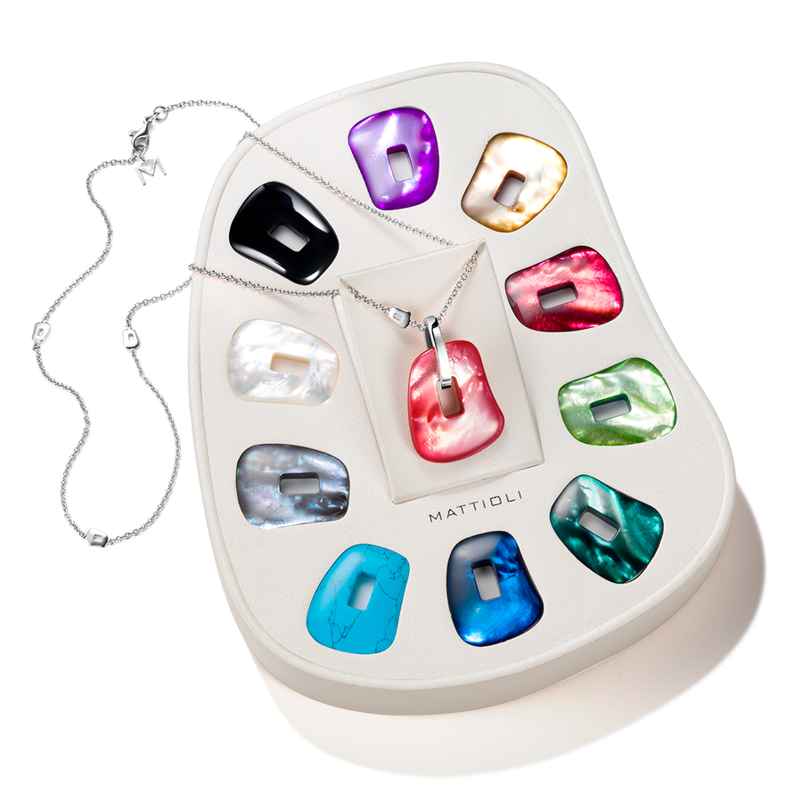 Puzzle medium pendant 11 colours